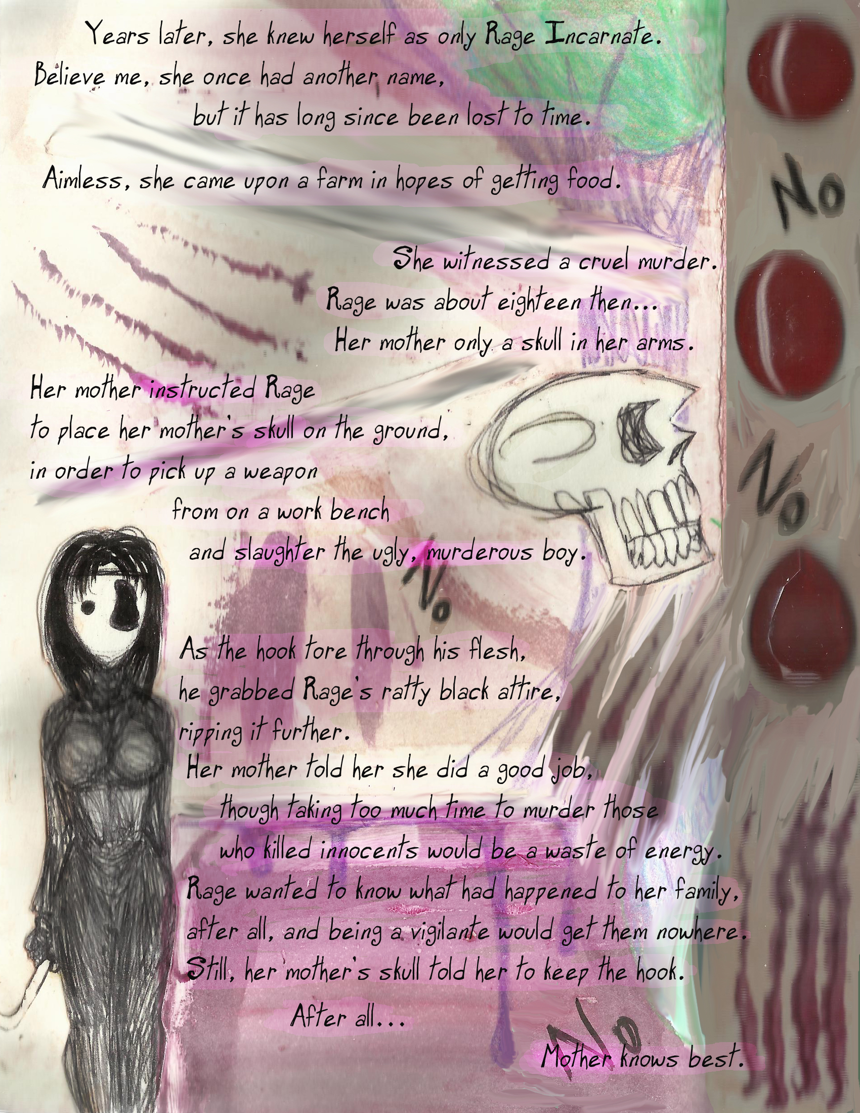 Chapter Three – The Story of Rage – Page Four